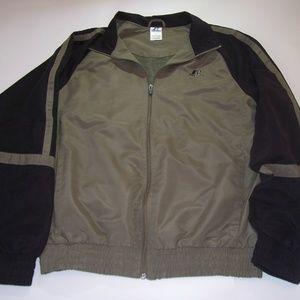 Russell Athletic Windbreaker Black/Gray-Green M